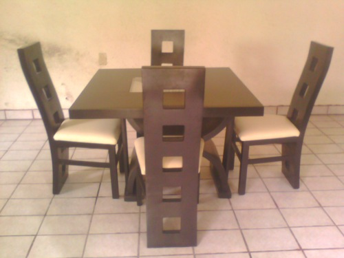 Muebles exclusivos for Comedores minimalistas 6 sillas