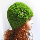 knitting pattern beanie hat, wool hat