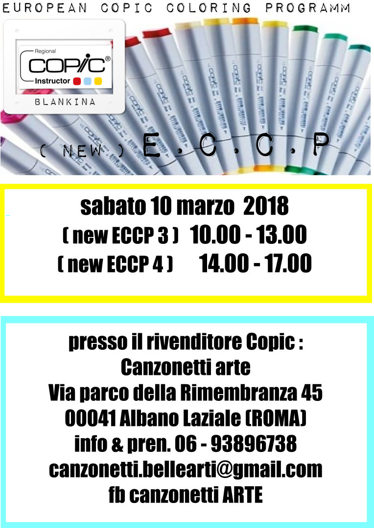 CORSO COPIC NEW ECCP AD ALBANO LAZIALE