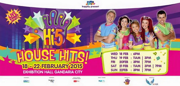 Hi 5 House Hits Tour 2015