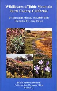 Wildflowers of Table Mountain book cover picture