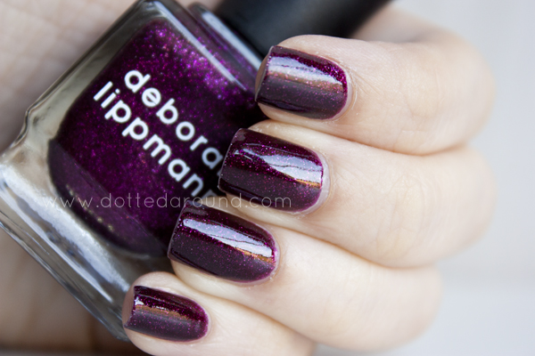 Deborah Lippmann good girl gone bad swatches