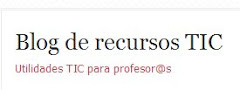 Blog de recursos TIC