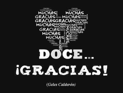 "DOCE GRACIAS"