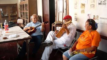 Bandoleando en la Casa de Bolívar