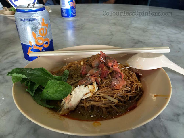 dried curry noodle woh heng coffee shop ipoh