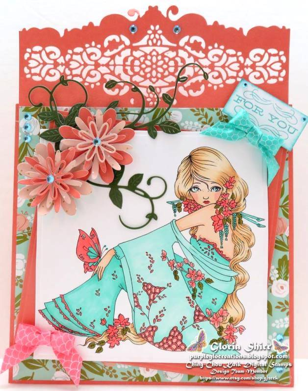 Featured Card at Ooh La La Challenge