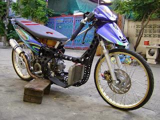 Modifikasi Yamaha Nouvo Drag