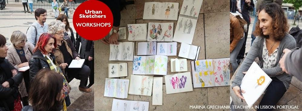 Urban Sketchers Workshops