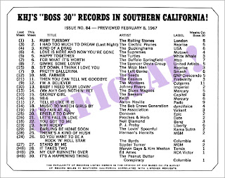 KHJ Boss 30 No. 84 - February 8, 1967