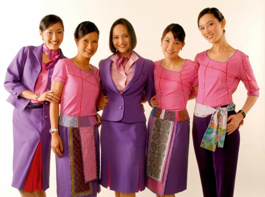 Pramugari Tercantik dan Terbaik Thai Airways