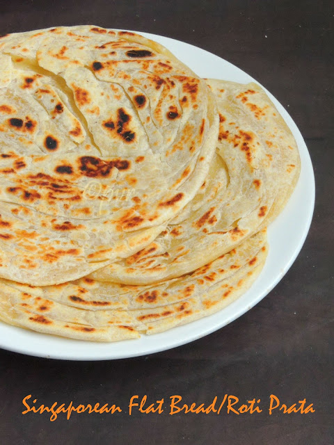 Singaporean flat bread, Roti prata