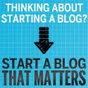WANT TO WRITE A BLOG THAT MATTERS?