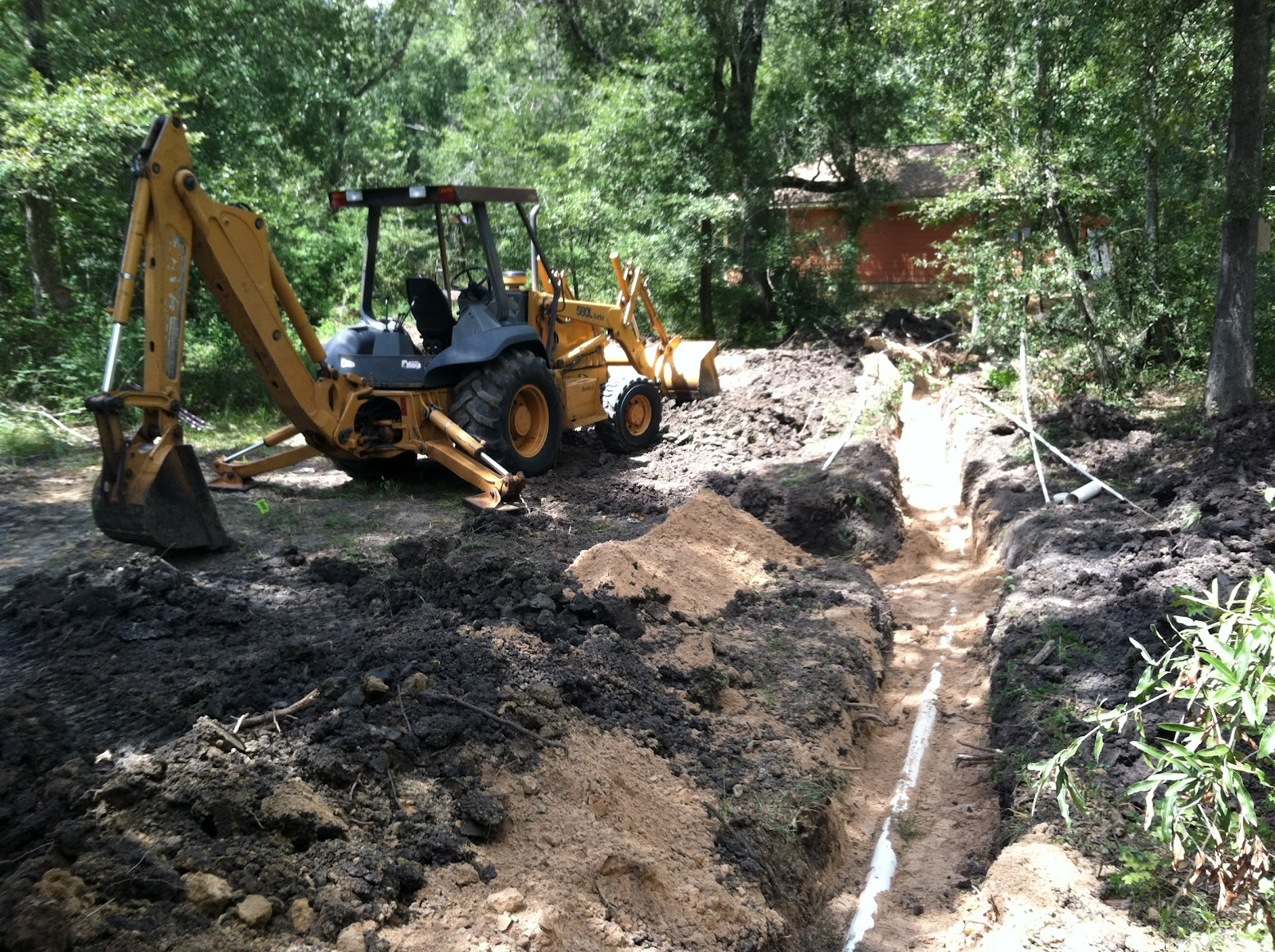 Windsong Hollow Ranch Septic System Is Installed