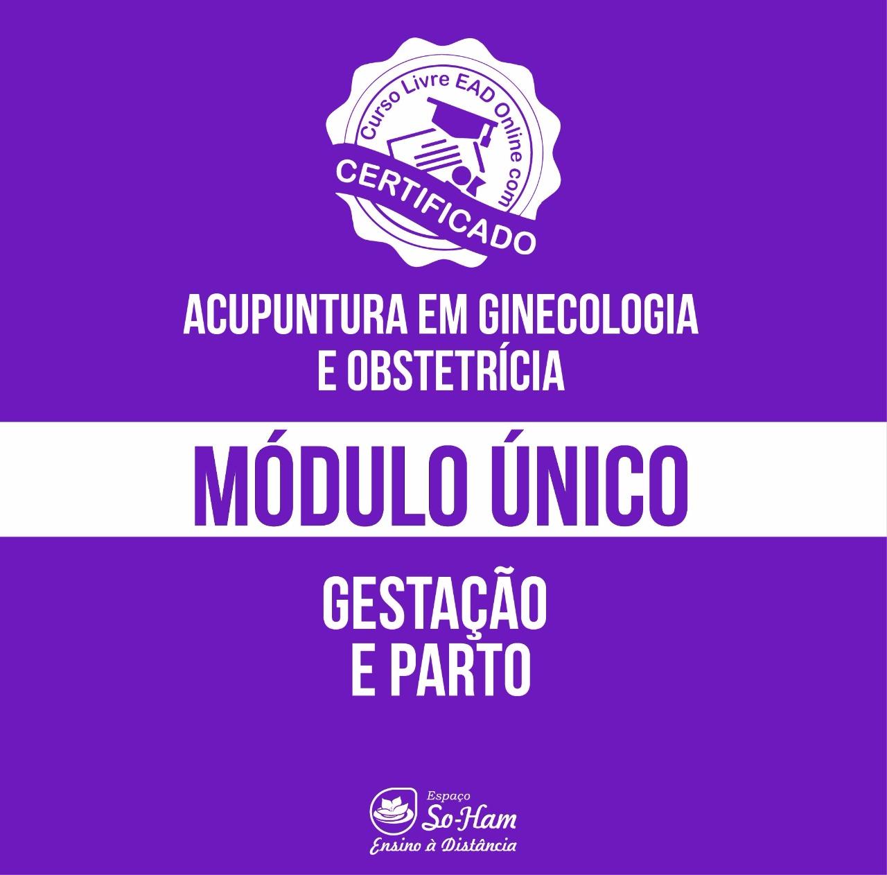 CURSO EAD ACUPUNTURA NA GESTAÇÃO E PARTO