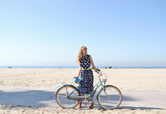 Bicycle, Polka Dots, Venice Beach