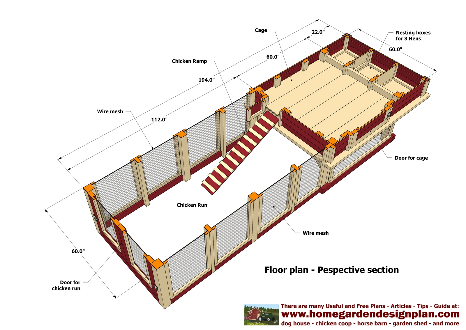 Hen 39 s get chicken coop designs for 100 birds for Poultry house plans for 100 chickens