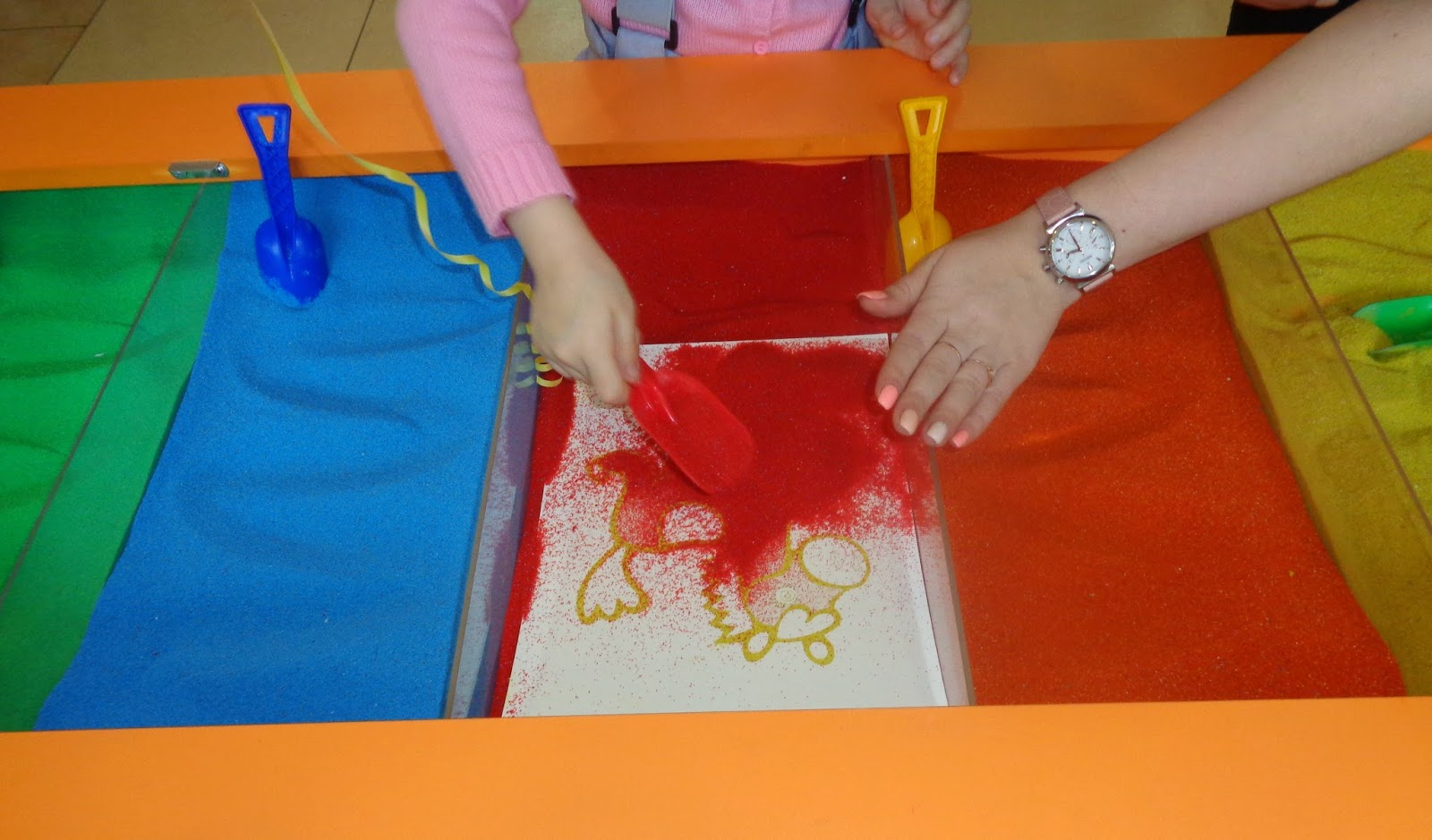 Поделки из песка для детского творчества