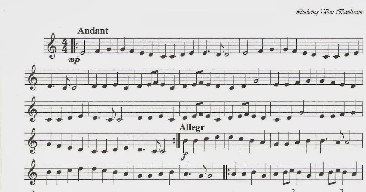 M sica en el aula himno de la alegr a for Cancion el jardin de la alegria