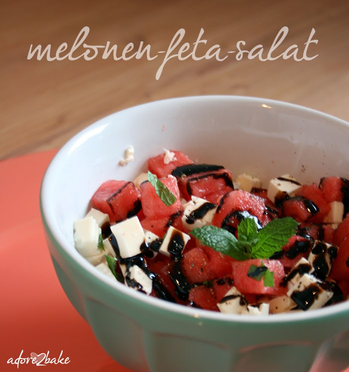 adore2bake melonen feta salat schnell gemacht richtig lecker. Black Bedroom Furniture Sets. Home Design Ideas