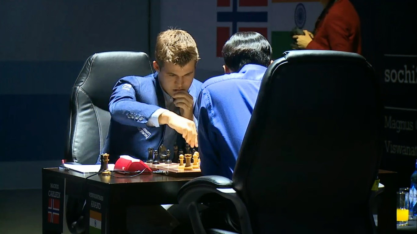 Match Carlsen-Anand 2014; Partida 10
