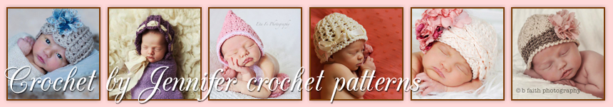 Crochet Patterns by Jennifer