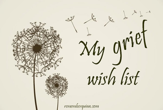 Grief wish list after stillbirth