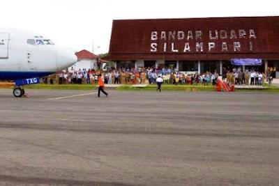 Bandara Silampari, Lubuklinggau, Sumatera Selatan. ZonaAero