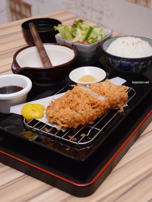 Rosu Katsu Bento (Pork) -  RM15.00