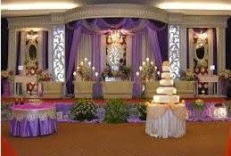 Dekorasi wedding international