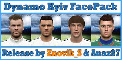 PES 2016 Dynamo Kyiv Facepack by Znovik_S & Anaz87