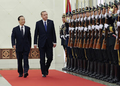 Turkish Prime Minister Recep Tayyip Erdogan In China