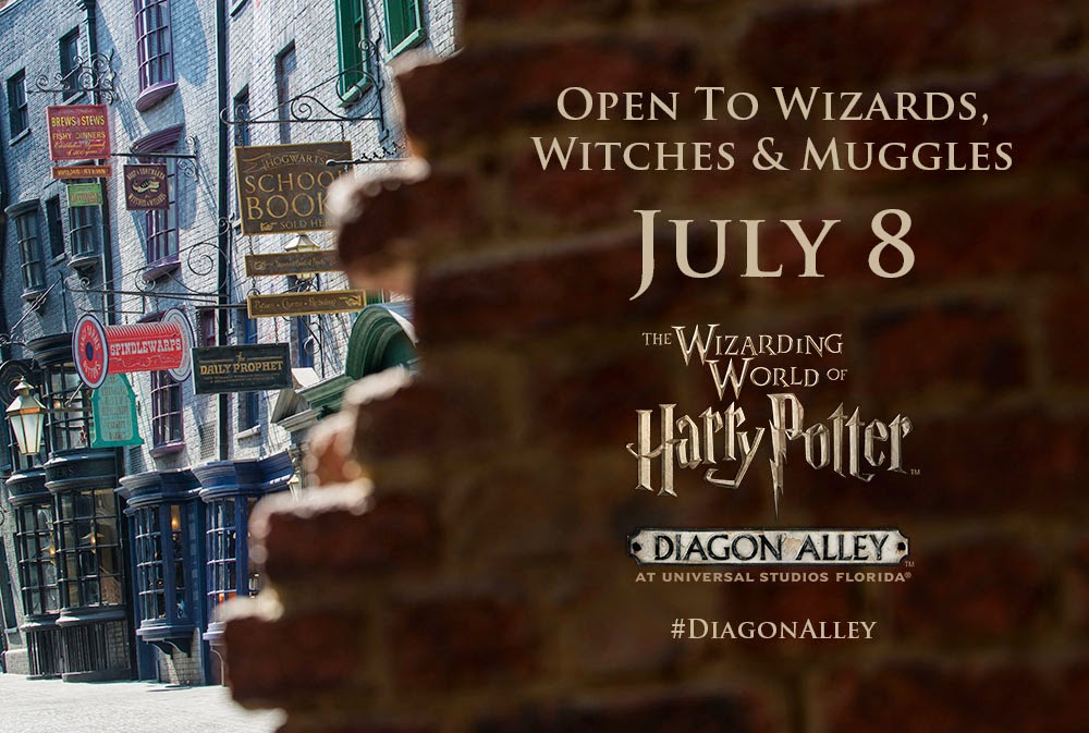 Diagon Alley Opening Day