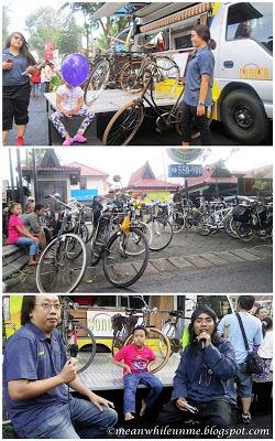 Komunitas Sepeda Ontel di Jogja Kreatif