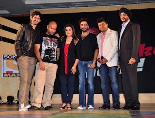 Farah Khan at Sony MAX IPL-2013 press conference