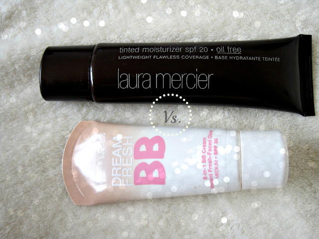 laura mercier tinted moisturizer maybelline dream fresh bb cream review