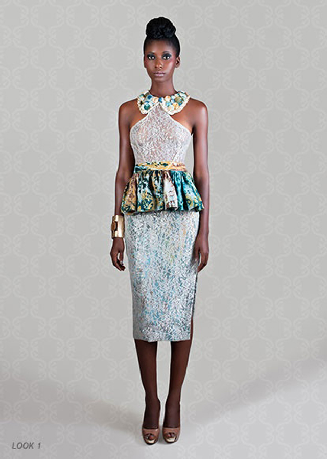 Christie Brown's resort 2013 collection sur la mode africaine-robe
