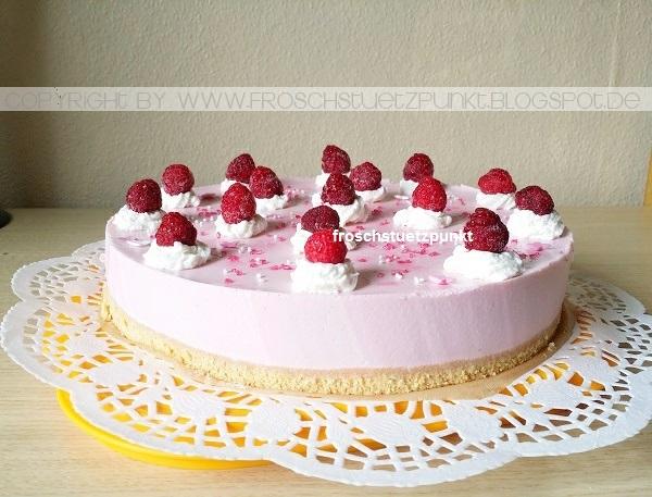 Rosa glitzer kuchen