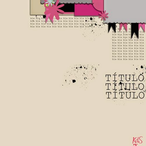 Layout Scrapbooking Kits de somni