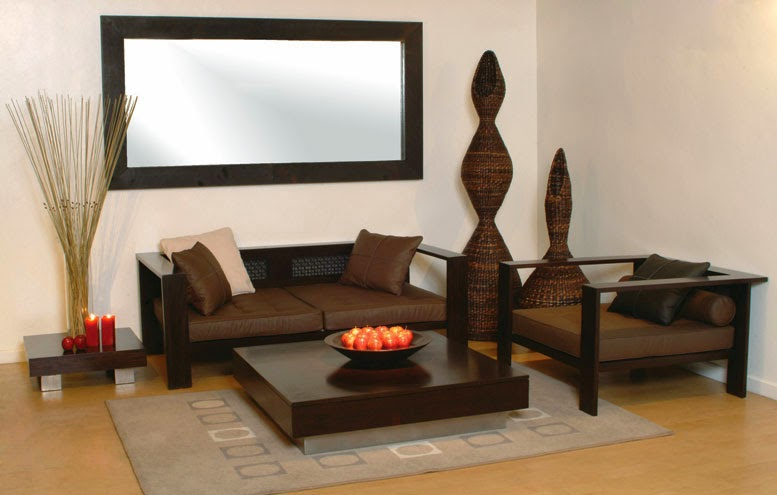 Contoh ruang tamu dengan desain sederhana