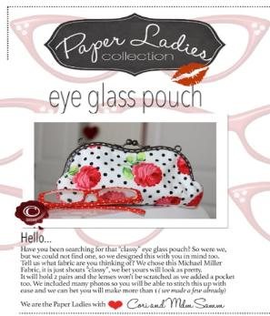 Eye Glass Pouch!