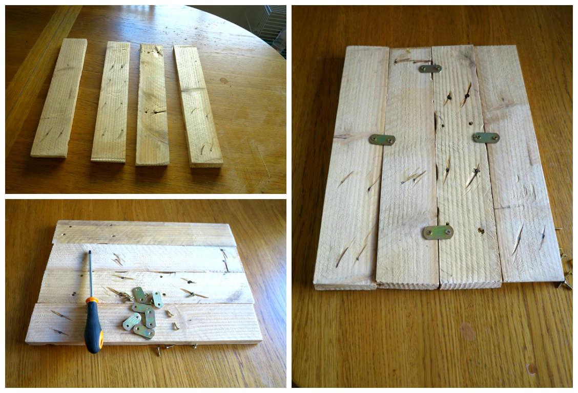 Diy un cuadro de madera decorar tu casa es - Pintar sobre madera barnizada ...