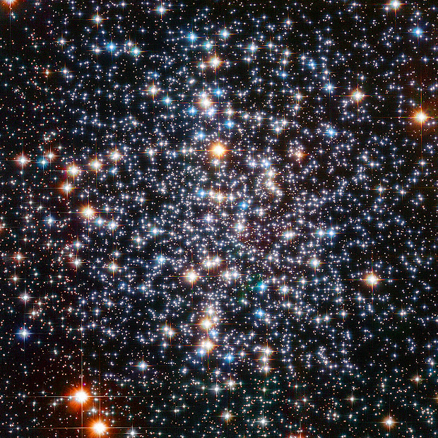 The Center of Globular Cluster M4