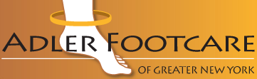 adler footcare new york logo