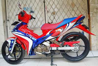 jupiter mx airbrush modifikasi