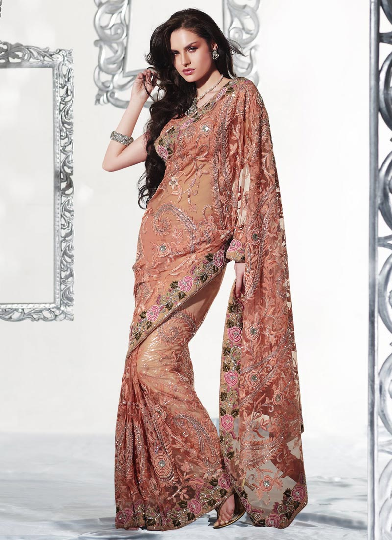 Party Wear Net Saree