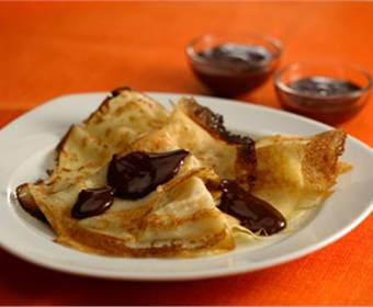 chocolate crepes