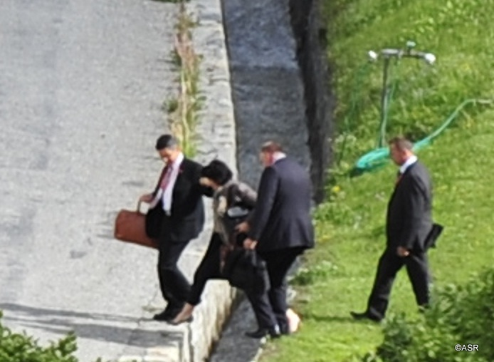 Bundesrätin Leuthard am Bilderberg-Meeting 2011 in St. Moritz 02