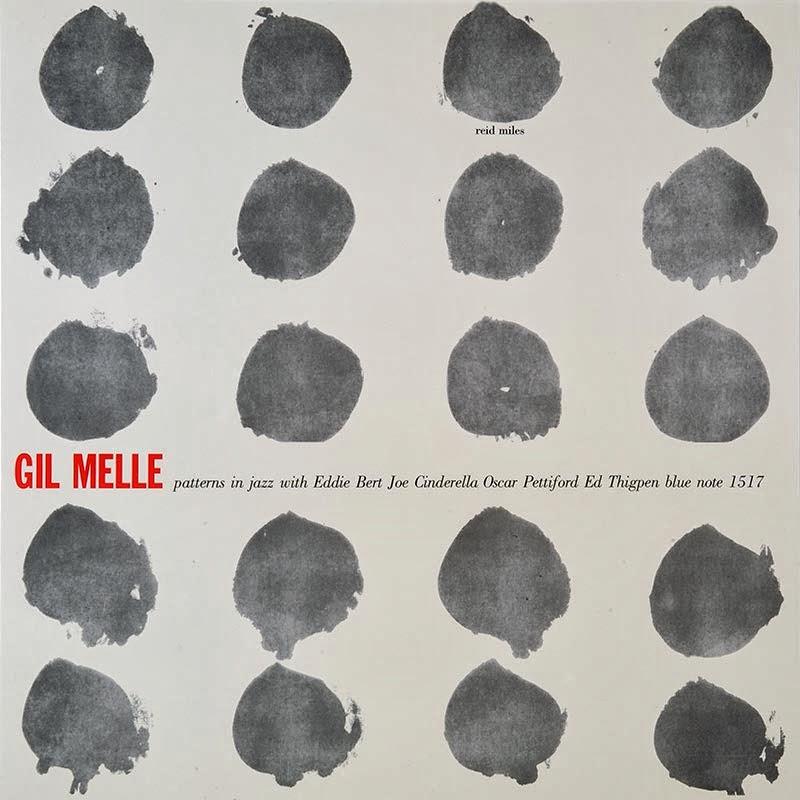 1956年、ニューヨークのジャズ名門レーベルで録音。ギル・メルのパターンズ・イン・ジャズのレコードジャケット