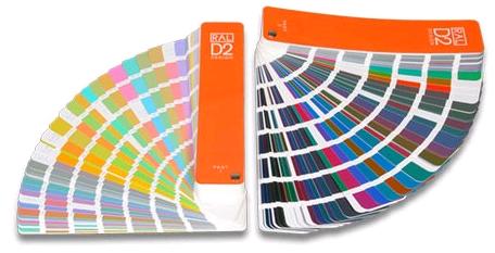 Mazzetta colori RAL D2